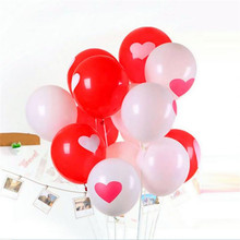 1pc 12inch Love Heart Pearl Latex Balloon Float Air Balls Inflatable Wedding Christmas Birthday Party Decoration Balloons