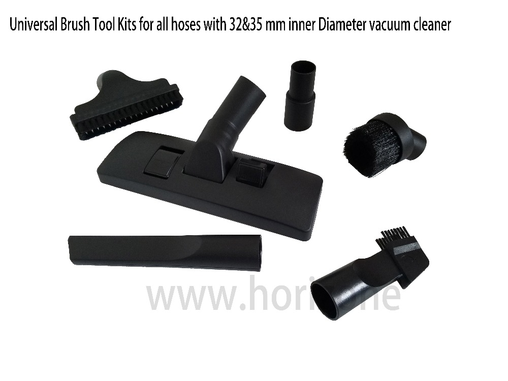 Universal 32mm  1.25  35mm  Carpet  Floor  Brush Tool set   for AEG ELECTROLUX VAX  Numatic HENRY HOOVER Miele Vacuum Cleaner<br>