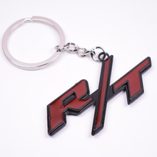 Metal R/T RT Car Key Chain Ring Keychain For Dodge SRT Durango Grand Challenger Charger etc