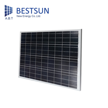 BESTSUN Hot Sales Cheap Price Pv BS-100W Poly Solar Panel home cell module kits Professional Manufacture Made solarmodule for s(China)