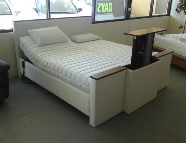 Bed tv