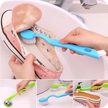 New Double Head Long Handle Cleaning Brush  Wash Shoes  Special Brush Cleaning Brush Home Daily Shoes Brush