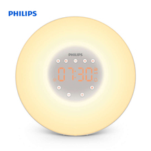 Philips Wake-up Light Wake up with light 2 natural sounds FM radio & Bedside lamp HF3505/70