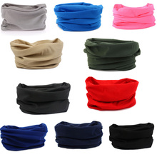 10 Color Quick Dry Headband Headscarf Headband Bicycle Cap Fashion Men Riding Bandana Pirate Hat 10 pcs(China)