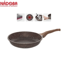Frying pan with non-stick coating 28 cm NADOBA series GRETA