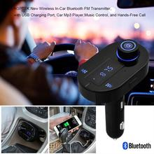 Car FM Transmitter Bluetooth Hands-free LCD MP3 Player Radio Adapter Kit Charger Perfect Fashion Design @111