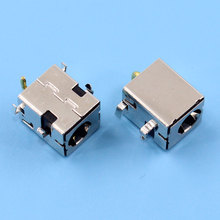 100PCS 2.5mm DC Power Jack Golden pin for Asus K52JR A52 A53 K52 k53 U52 X52 X53 X54 PJ033 A43 X43 A53 A53S U30 LAPTOP(China)