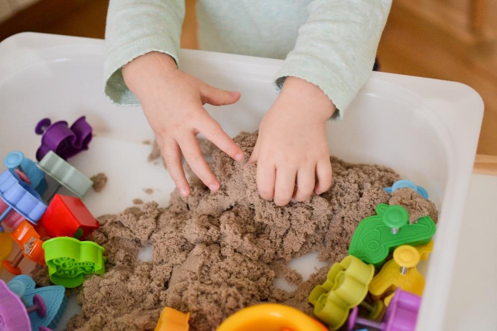 Космический песок сделать самому