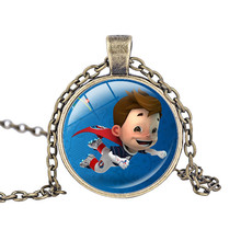2016 Super Victor Necklace Jewelry France Soccer Cup Mascot Necklace Football Souvenir Gift Kids Birthday Favors And Gift
