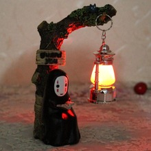 Kawaii Zakka No face Male Stump Nightlight 1641  Resin Handicraft  Reading lamp Desktop Home Decoration Accessorie