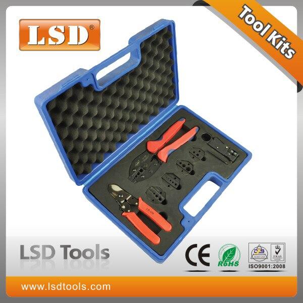 LY-05H-5A2 Crimping tool kit for crimp coaxial terminal ,ferramenta,BNC RG connectors<br>