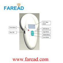 Free Shipping x2pcs microchips as free samples with RFID Pet scanner LF 134.2KHz/125kHz