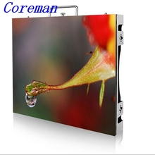 Coreman Video wall panel indoor led display screen advertising cabinet p4 indoor full color led sign p2 p3 p4 p5 p6 p8 p10 p12(China)