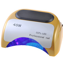 free shipping! Professional 48W UV LED Lamp CCFL Light Nail Dryer Polish Machine for Curing Nail Gel Art Tool