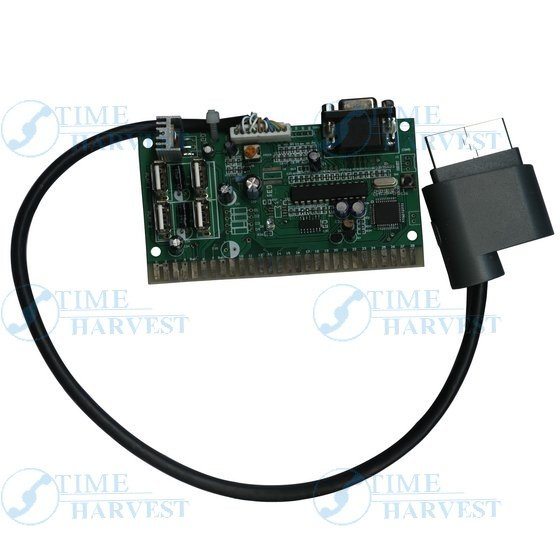 1 Pcs of X-360 arcade VGA timer board/change the X-360 USB to Jamma/X-360 game to arcade game machine