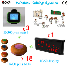 Remote Service Buttons K-O1plus-blue With K-236+K-300plus-green Waiter Pager System(China)