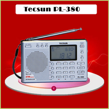Tecsun PL-380 Digital ETM DSP Portable PLL Radio FM Stereo/LW/SW/MW World Receiver Tecsun pl380, Freeshipping, Retail, Wholesale(China)