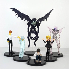 Retail Anime Death Note Deathnote Ryuuku PVC Action Figure Collection Model Toy Dolls Wholesale