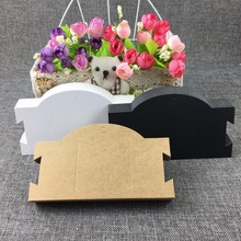 New Arrival 100PCS/Lot 16*9cm Jewelry Hair Clip Card Kraft Blank Display Fashion Design Card Accept custom logo Need Extra Cost