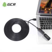 GCR Active USB Extension Cable 3m 5m 10m 15m 20m 25m 30m Active Cable Extender USB For 3G 4G LTE Dongle Modem Flash HDD Printer