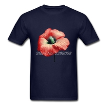 Fashion Men's t-shirt Cool Flower Perfume Simple Style Tee shirts Short Sleeve Mens T-Shirt XS,S,M,L,XL,2XL,3XL(China)