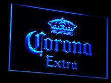 a013 Corona Extra Beer Bar Pub cafe LED Neon Sign with On/Off Switch 7 Colors to choose