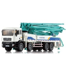 1:55 Alloy car Cement Pump Truck Concrete Car Model  Metal Car Children Toy  Birthday Present Christmas Gift