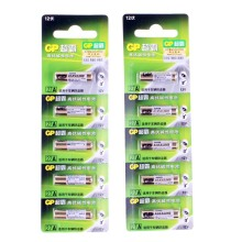 10pcs/lot G&P GP 27A A27 12V Alarm-Remote Dry Alkaline Battery Cells 27AE 27MN High Capacity Car Remote Toys Calculator DoorBell(China)