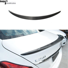 2015+ Mercedes C class W205 spoiler wings carbon fiber AMG-style rear trunk spoiler for Benz 2015+ c180 c200 c220 c250 c300 c350(China)