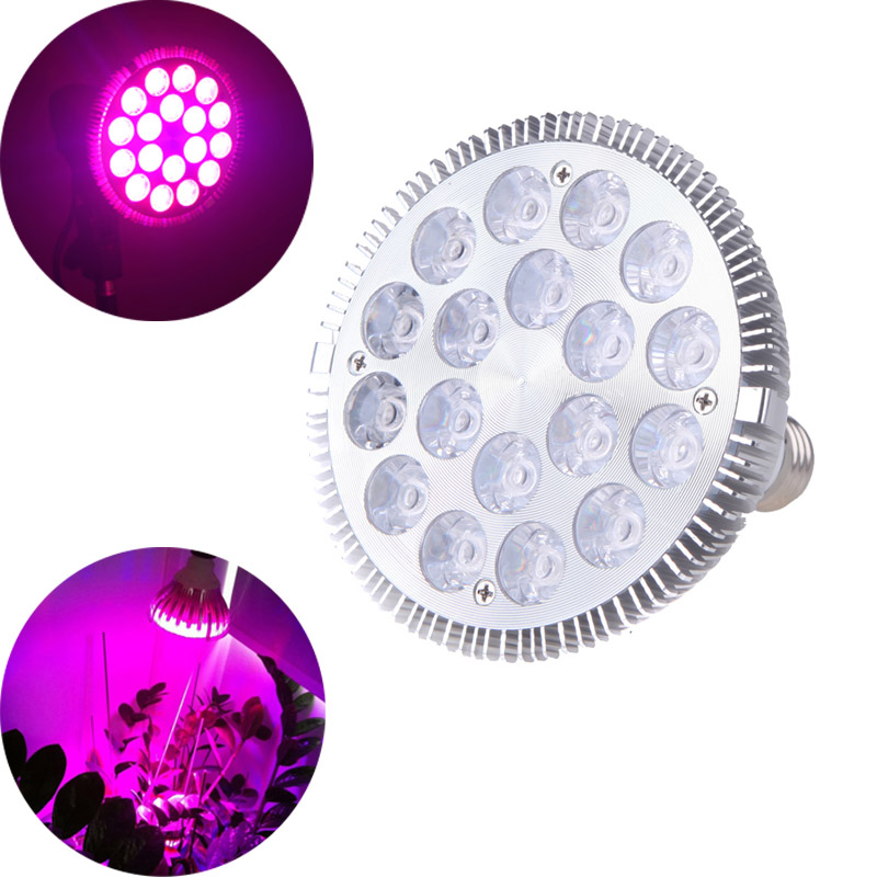 Led Grow Light Grow Light Lamp E27 45w Pa38 85-265v 10white 5blue Led Aquarium Bulb for Coral Reefs And Fishes Cheap 1 Order<br>