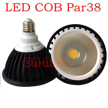 COB LED PAR38 Bulb light 15W CE ROHS Approved 100W halogen par38 Spotlight replacement AC85-265V Free Shipping(China)