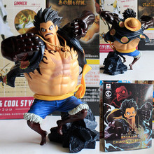 16cm PVC One Piece Anime Gear Fourth Monkey D Luffy Action Figure Toys, Special One Piece Luffy Figure toy, Anime Brinquedos