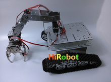 6 dof vehicle-mounted TA001 mechanical arm with CL-5 claw and 6pcs High torque servo for robot mechanical design competition