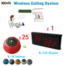 wireless calling system , server paging system for restaurant,coffee shop,office , hospital