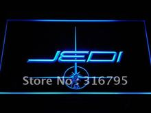 g024 Jedi Star Wars Gifts Decor NEW LED Neon Sign with On/Off Switch 7 Colors to choose