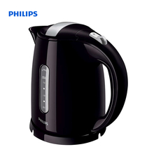 Philips Daily Collection Kettle 1.5 L 2400 W Water level indicator Black silver Hinged lid HD4646/20