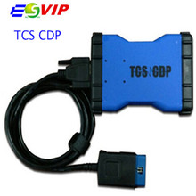 Lowest Price High Quality CDP PRO TCS CDP software 2014 R2/R3 cdp plus New VCI OBD2 OBDII Diagnostic Tool Cars/Trucks