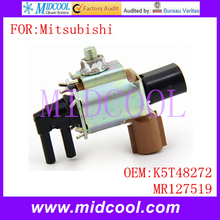 New Emission Solenoid Valve use OE NO. K5T48272 , MR127519 for Mitsubishi Montero Pajero Shogun L200 4D56