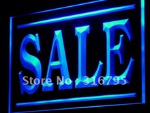 j203 SALE Discount Lure Display Shop LED Light Sign Wholeselling Dropshipper On/ Off Switch 7 colors DHL