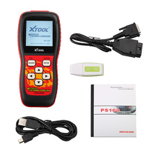 100% Original Xtool PS100 OBDII Can Scanner Update Online PS 100 OBD2 Erase Trouble Code Free DHL Shipping