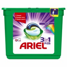 Washing Powder Capsules Ariel Capsules 3in1 Color (23 Tablets) Laundry Powder For Washing Machine Laundry Detergent