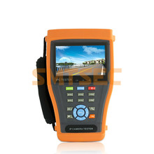 "4.3"" Touch Screen IP Camera Test Monitor PoE Test CCTV Tester WIFI PTZ Controller HDMI OSD Menu (IPC-3400 )(China)"