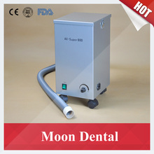 Mobile Dental Lab Equipment AX-SUPER800 Movable Dental Vacuum Dust Extractor for Sandblaster & Workstations in Dental Labs(China)