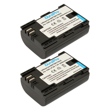 2 Pack x DuraPro LP-E6 2000mAh LP-E6N LPE6 Camera Battery For Canon 5D Mark II III 7D 60D EOS 6D , For Canon Accessories