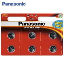 Panasonic CR-2025EL/6BP Batteries 1 bl/6 ps Lithium Power 3V Are designed for a large number of daily used equipment
