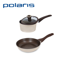 Polaris Safari-18SP/Safari-24F Pan/Frying Pan Non-stick Cover 1 Set Eco-friendly 18/24cm Diameter Suitable for different Cooker
