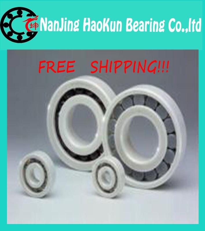 Free shipping 10pcs 6304 POM plastic deep groove ball bearing 20x52x15mm with glass balls<br><br>Aliexpress