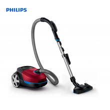 Philips Performer Active Vacuum cleaner with bag AirflowMax technology MultiClean nozzle HEPA 13 filter Remote control FC8589/01