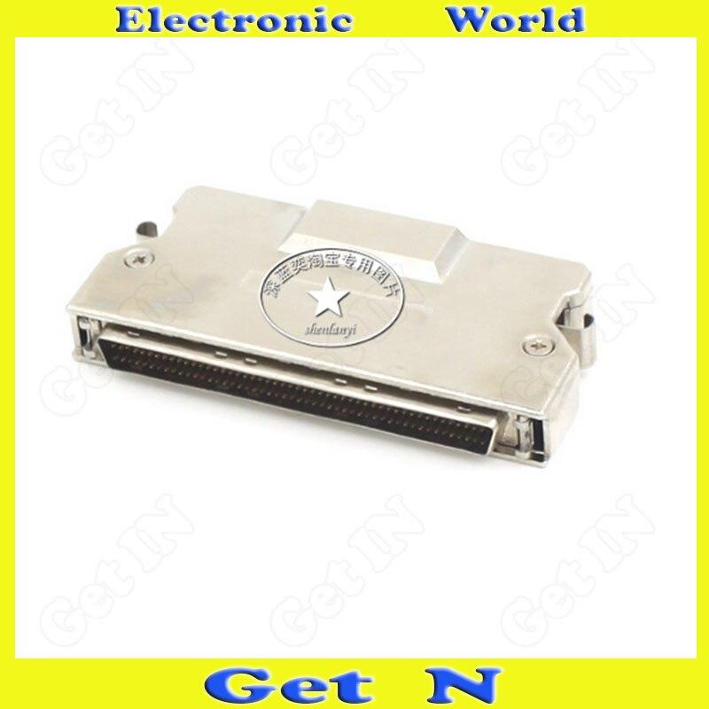 1pcs FMD100M-AL SCSI Cable Connector DB100PIN Crimping Male Adapter Zinc Alloy Plug Socket<br>