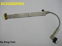 New LCD Screen Video Flex Cable For Toshiba Satellite A200 A205 A210 A215 screen cable DC02000F900